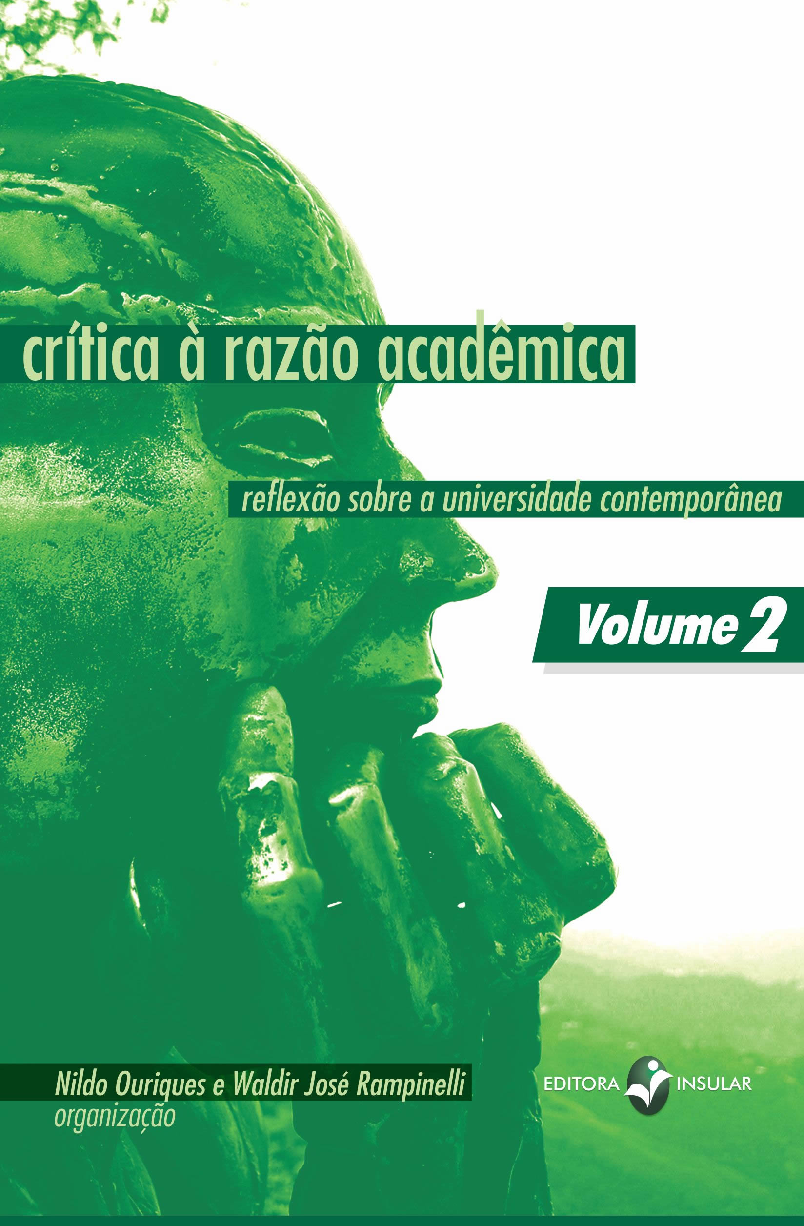 Capa do segundo volume  - Editora Insular