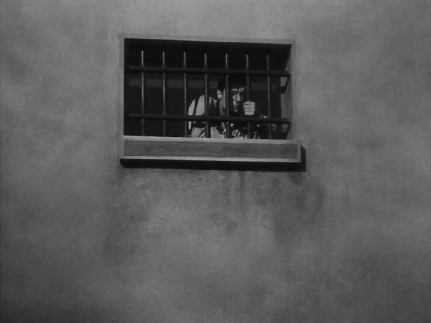Fotograma de um  filme de Bresson - A man escaped