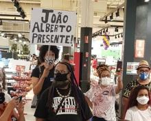 Protesto no Carrefour